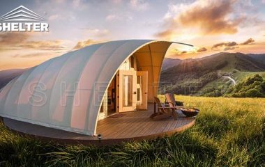 cocoon house glamping tent-for-sale-autonomous-tent house for luxury camping eco living dome tents glitzcamp